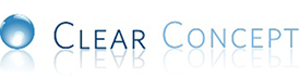 Clear Concept Inc. Sticky Logo