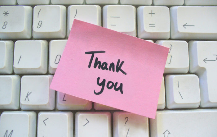 gratitude, thank you, recognition