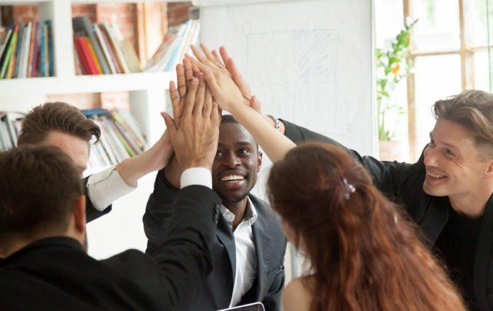 Teamwork; leadership; connecting