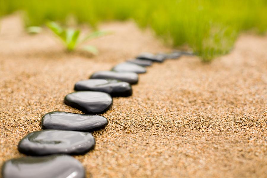 Routine-Stone path